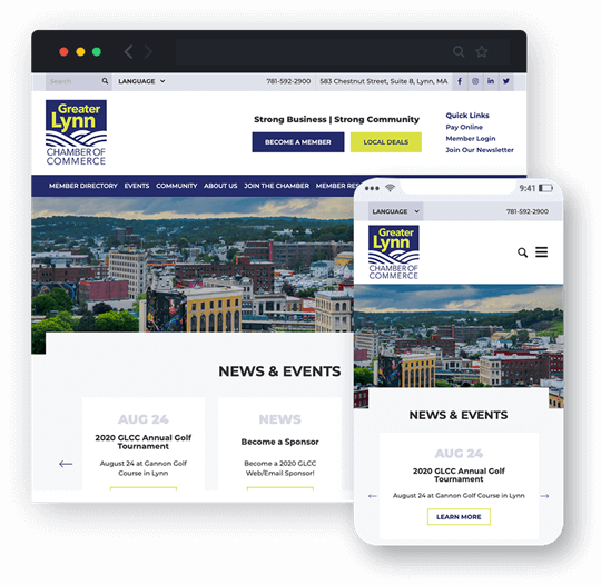 greater lynn chamber of commerce directory website design