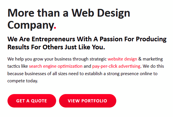 calls to action for the best website possible